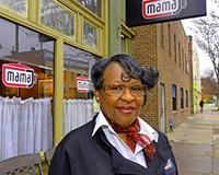Velma Johnson, cake baker and owner of Mama J's.