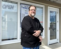 Karl T. Philippi is the proud owner of Karl's Place Barber Shop.