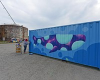 Behind the Photo: Whale Mural