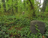 Behind the Photo: Evergreen Cemetery