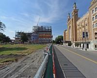 $6.8 Million Monroe Park Renovations Continue Despite Controversy