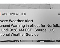 Tsunami warning for Hampton Roads was only a test