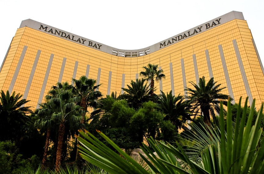Last year, a gunman using bump fire stocks took aim from an upper floor of the Mandalay Bay in Las Vegas and killed 58 concertgoers and wounded 851.
