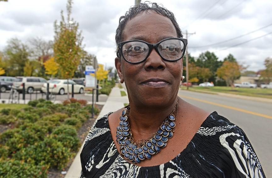 Sharon Herman, a longtime Creighton Court resident, is cautiously optimistic about the Church Hill North development. - SCOTT ELMQUIST