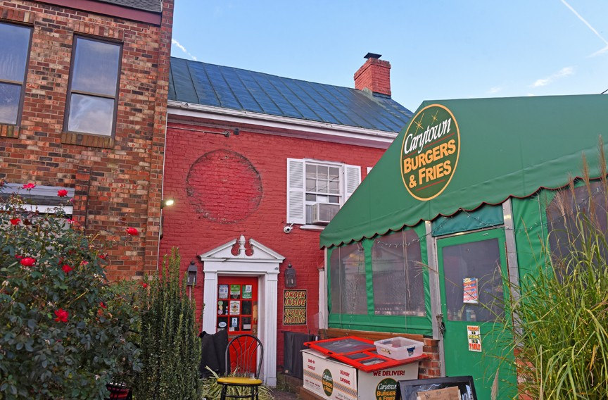 A brick vernacular farm house from about 1850, now all-but-obscured at 3504 W. Cary St. in Carytown has served many uses, most recently as a restaurant, Carytown Burger & Fries. For years, historians thought the building to be a toll keeper's house for the Westham Plank Road, the predecessor of Cary Street Road. The 170-year-old survivor awaits demolition to make way for a new shopping center, Carytown Exchange. The developer promises the new center's design will be compatible with the historic fabric of the shopping district. If historic context is desirable, why not retain this, the oldest building in the neighborhood? - SCOTT ELMQUIST