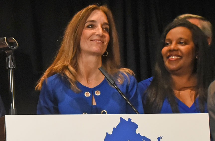 Democrats selected Delegate Eileen Filler-Corn as their designee for speaker of the House. She represents the more moderate wing of the Democratic party and is from Northern Virginia. - SCOTT ELMQUIST