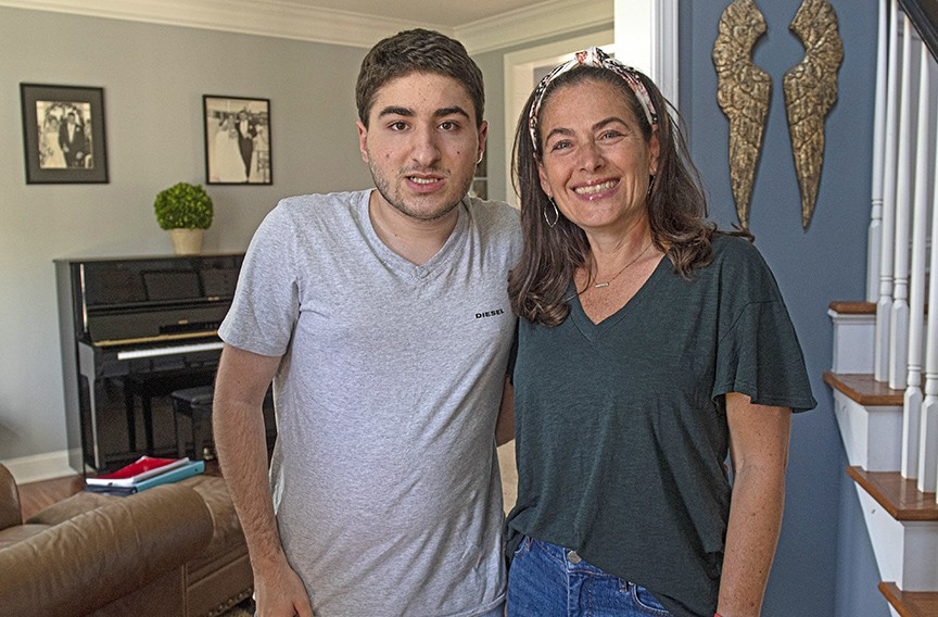 Carissa Garabedian of Henrico is the mother of 17-year-old Marky, who has autism. - SCOTT ELMQUIST