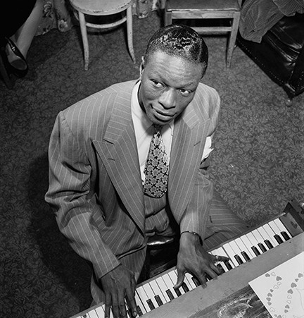 While Nat King Cole is known as a legendary vocalist, his early trio work highlights his masterful piano playing. - LIBRARY OF CONGRESS