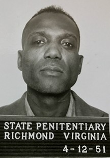 "On the day of his execution in 1954, ""Cocky"" Joe Robinson jammed his cell door and hung himself. He was Virginia's only death row suicide."