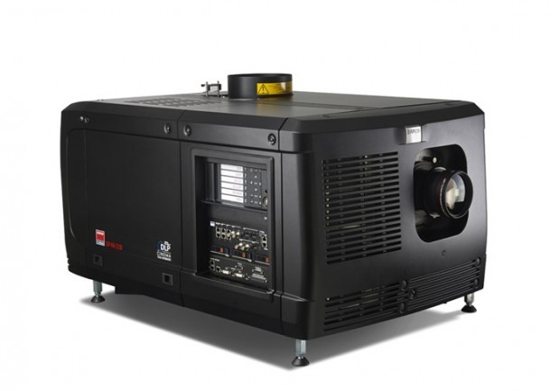 The Byrd's new 4K projector, a Barco DP4K-32B Digital Cinema Projector, will allow the historic theatre to show films with much clearer and brighter picture.