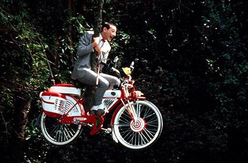 """Pee Wee's Big Adventure"" at the Byrd Theatre. - WARNER BROS. PICTURES"