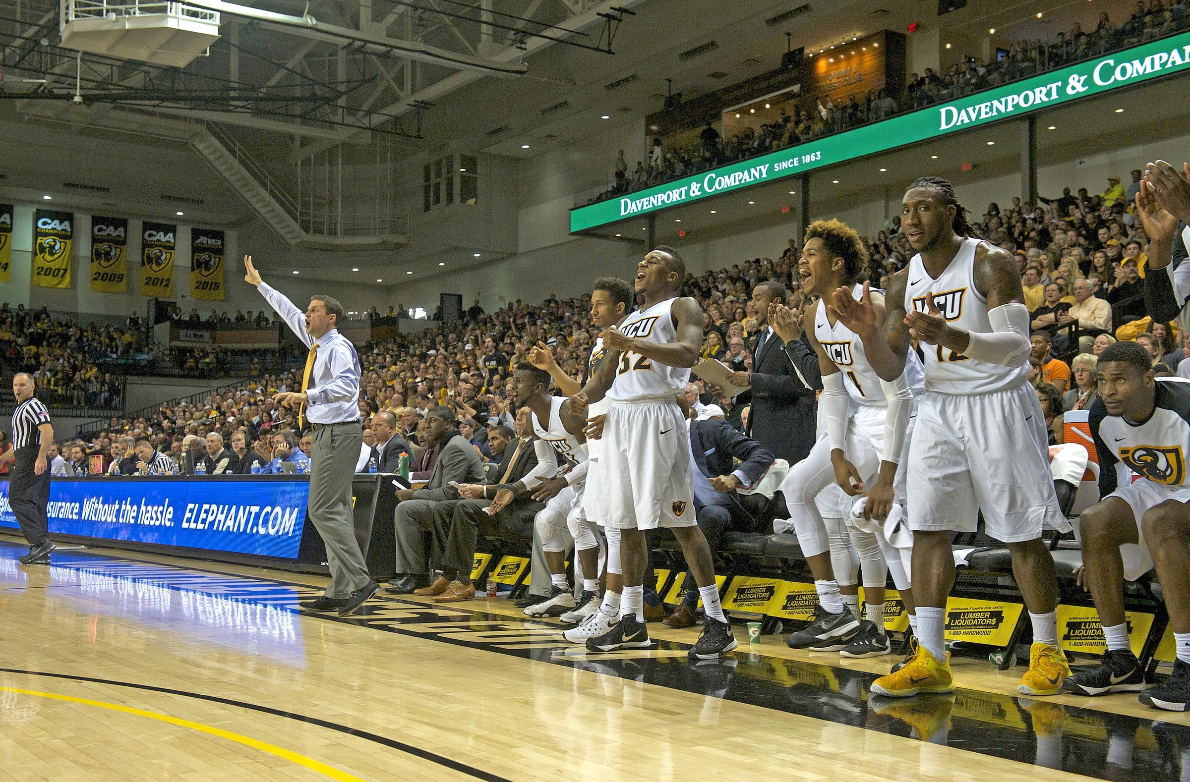 Coach Will Wade directs his team during a lopsided victory over Prairie View A&M University on Nov. 13. - SCOTT ELMQUIST