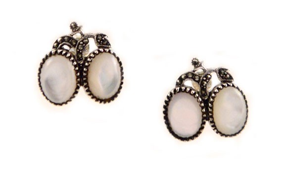 Replica Pocahontas earrings ($45) from the Virginia Historical Society.