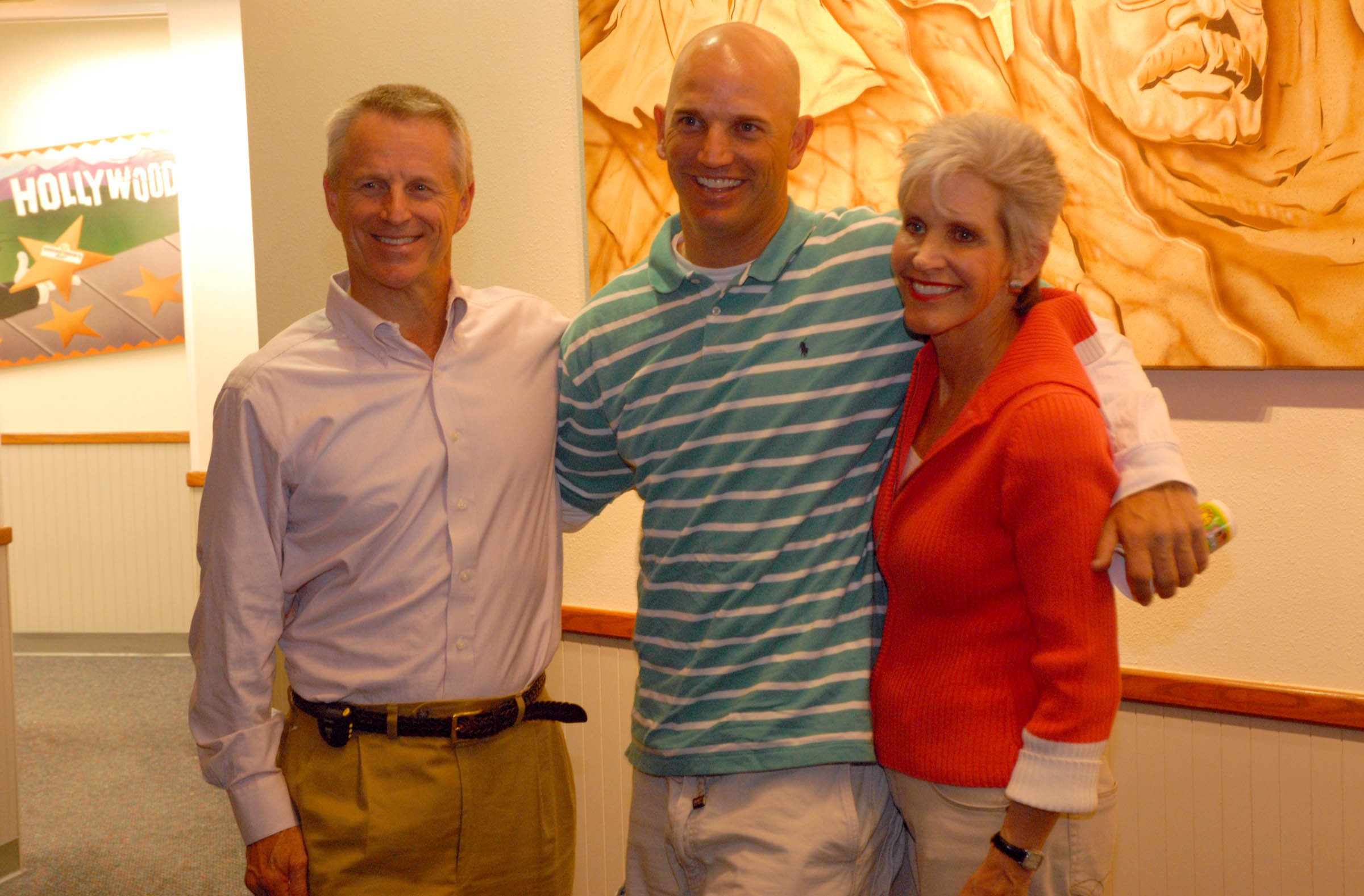 At a celebration in 2006, Bobby and Jayne Ukrop celebrate their son Rob's birthday. Rob helped forge the success of the Richmond Kickers and its local youth soccer outreach.