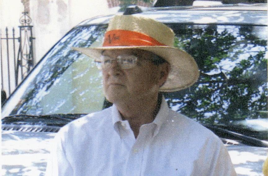 Jack Zehmer at Spoleto in Charleston, South Carolina.