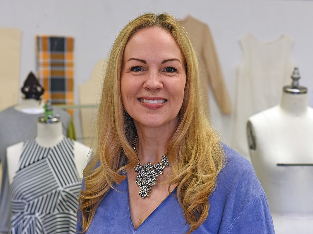 Patricia Brown, new chair of fashion design and merchandising at VCU.