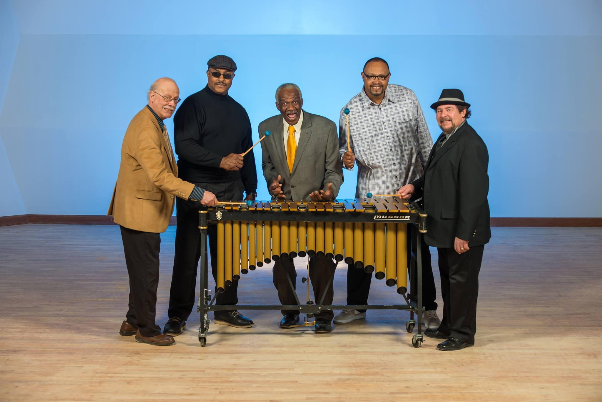 Cool as a cadillac with a snow plow, Harry Wilson, former Sun Ra vibes man, pictured here with his quartet.