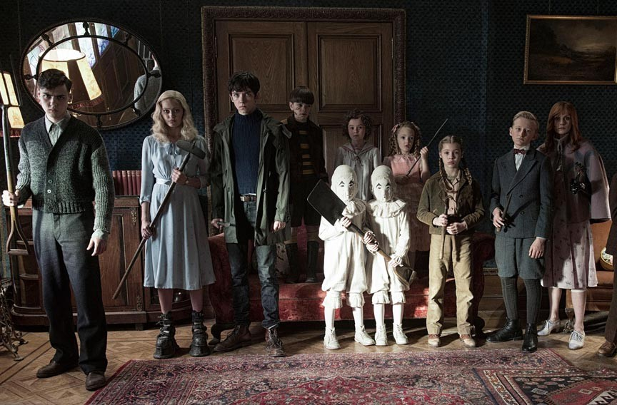 """Miss Peregrine's Home for Peculiars"""