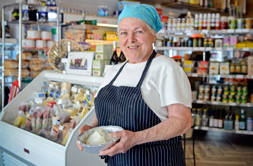 Stella Dikos, who's been serving her Greek food to Richmonders for decades, will be part of the new Stella's in Charleston, South Carolina. - SCOTT ELMQUIST