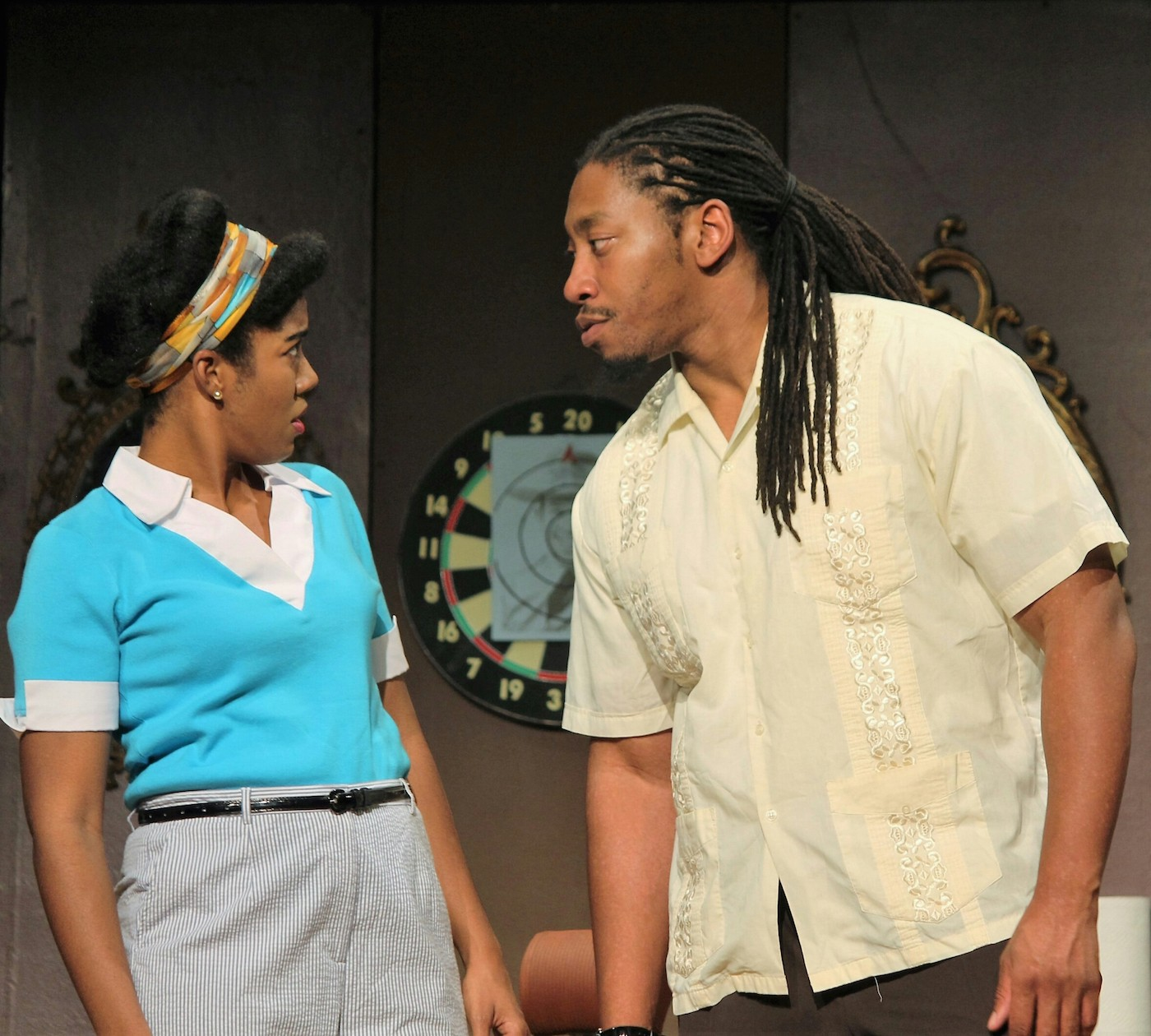 """Shalandis Wheeler Smith (as Adele) and Rakeem Laws do great work in the family drama, """"Ceremonies in Dark Old Men."""""""