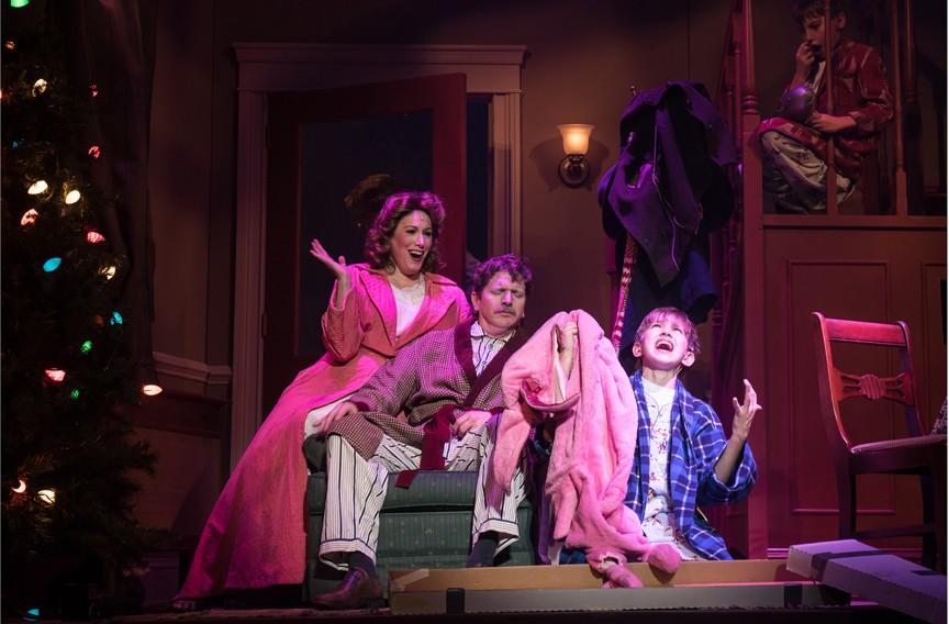 A Christmas Story Musical.Review Virginia Rep S A Christmas Story The Musical