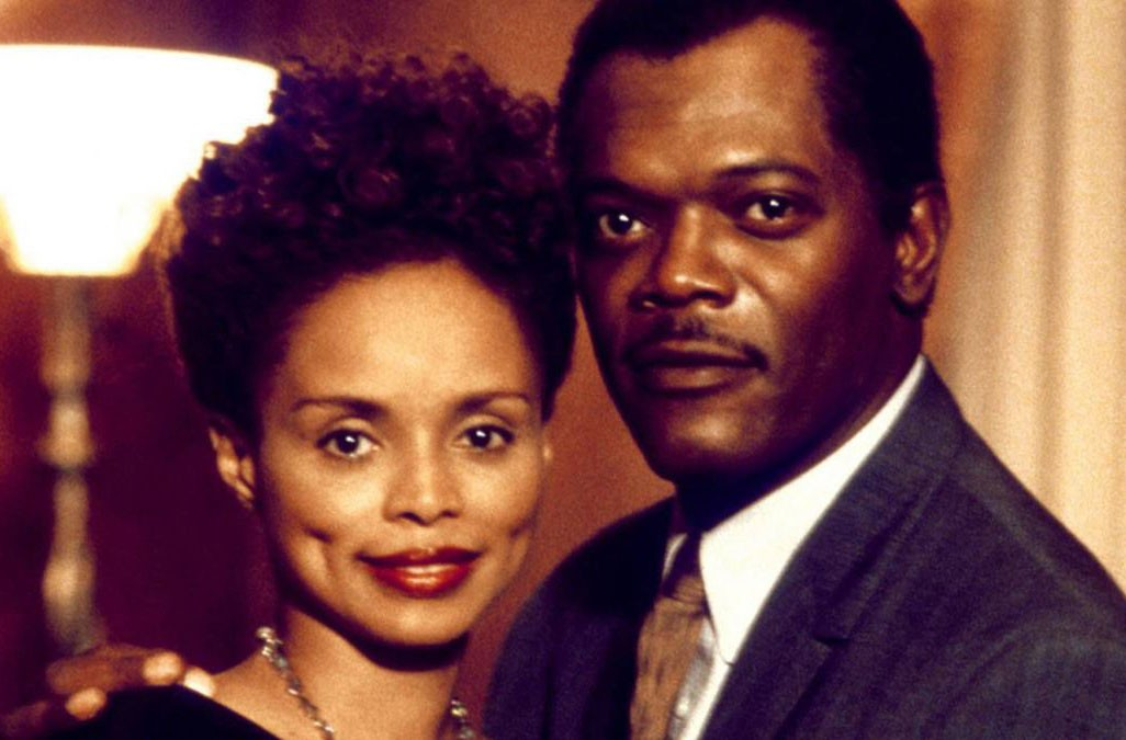 """""""Eve's Bayou"""" (1997) with Samuel L. Jackson and Debbie Morgan. - TRIMARK PICTURES"""