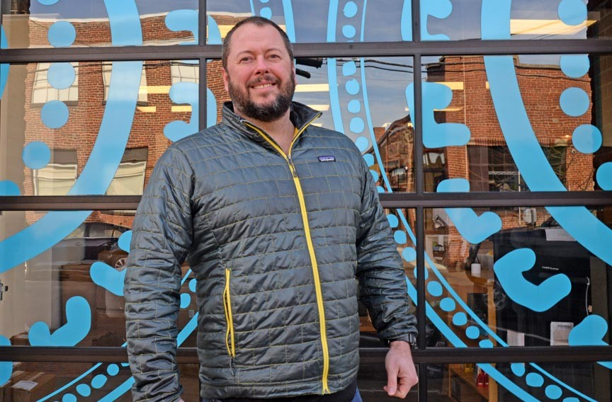 The company's chief executive, Shane Emmett, has no plans to move Health Warriors' headquarters out of Scott's Addition. - SCOTT ELMQUIST