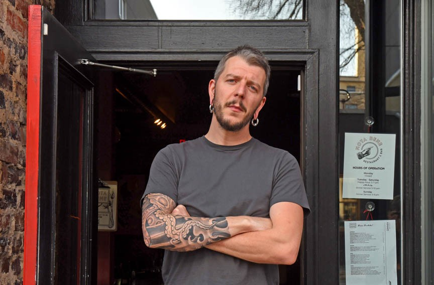 Richmond chef Randall Doetzer spent five years at Julep's New Southern Cuisine and now his expansive culinary imagination at Nota Bene soars. - SCOTT ELMQUIST