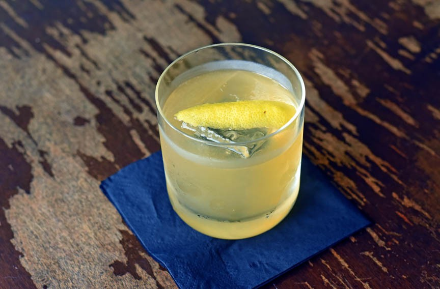 Punch finds its Richmond roots in the Roosevelt's version of Quoit Club Punch, once sipped by U.S. Chief Justice John Marshall. - SCOTT ELMQUIST