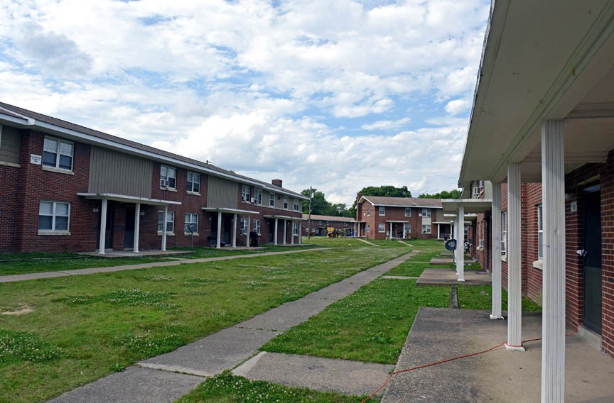 About 10,000 people live in Richmond public housing in six large developments. Mosby Court is one typical example. - SCOTT ELMQUIST