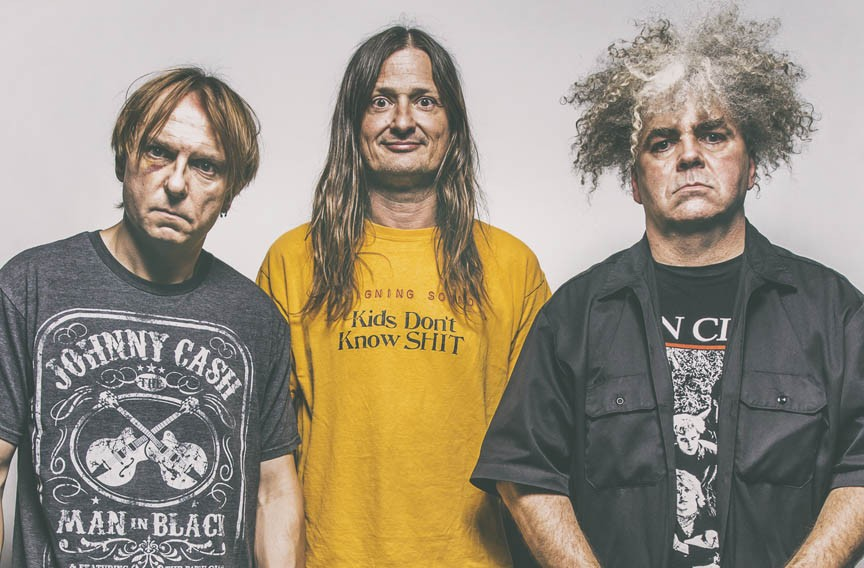 "Drummer Dale Crover, bassist Steven McDonald and guitarist Buzz Osborne recently released the Melvins' first double album in 34 years, ""A Walk with Love and Death"" on Ipecac Records."