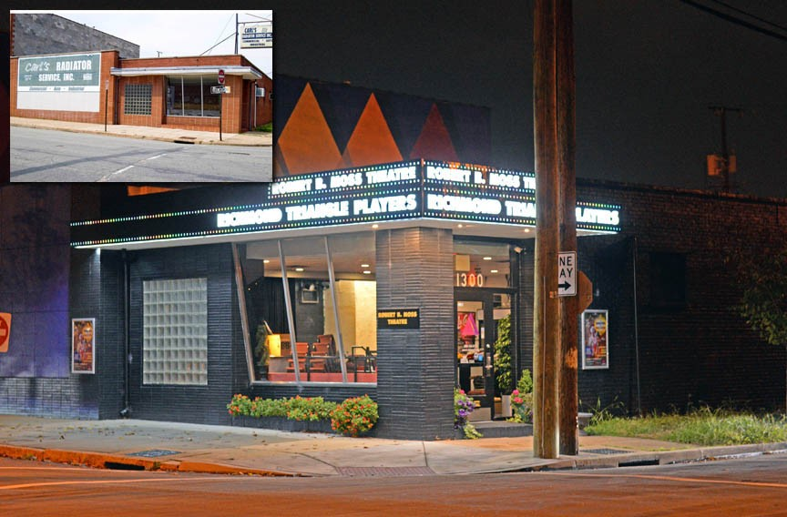 A look at the transformation of the current Richmond Triangle Players at 1300 Altamont Ave. in Scott's Addition from when the company bought it to now.