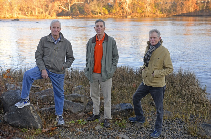 """""""America's Favorite Flies"""" co-authors Rob Carter and John Bryan, with photography by John Henley, will see their book publish this month. It includes contributions by David Watterworth and is dedicated to Norman Maclean, author of """"A River Runs Through It."""" - SCOTT ELMQUIST"""