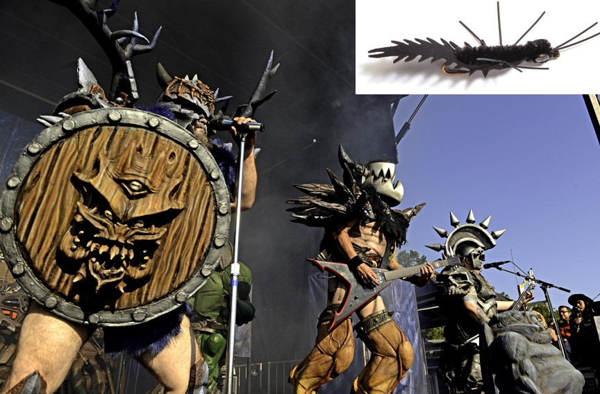 Gwar lead singer Michael Bishop submitted the Black Crittermite. - GWAR: SCOTT ELMQUIST/FILE  FLY: AMERICA'S FAVORITE FLIES