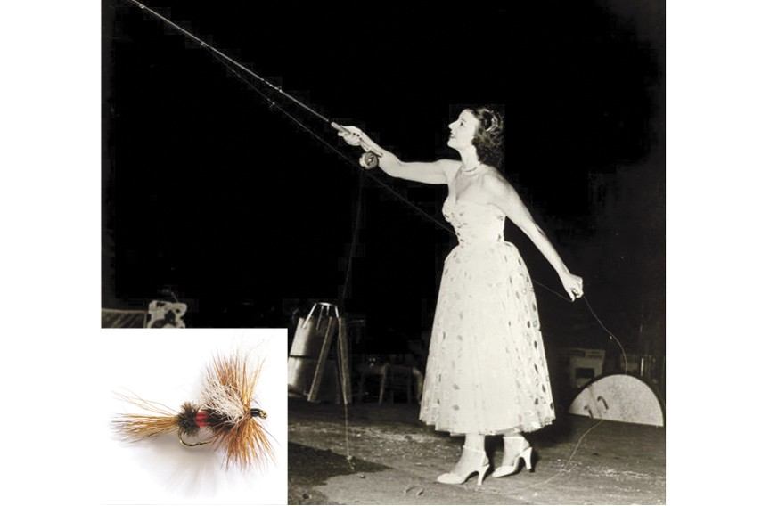 Joan Wulff, a living legend in the sport, chose the Royal Wulff. - AMERICA'S FAVORITE FLIES