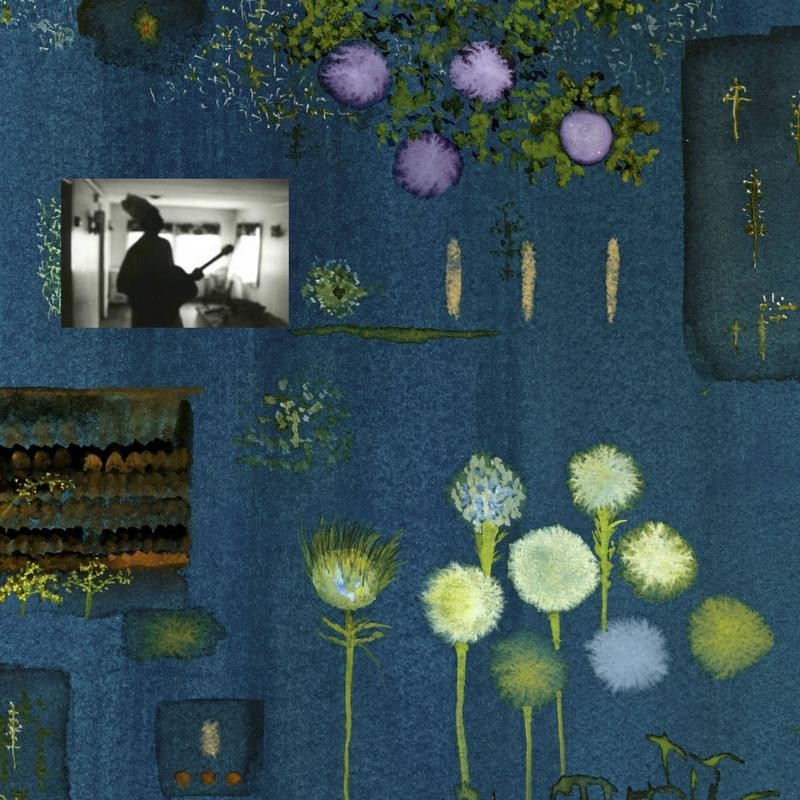 """John Lurie's cover art for the new Marvin Pontiac album, """"The Asylum Years."""" As the website reads, Pontiac was anonymously sent a 4-track tape recorder during the years he was held at Esmerelda State Mental Institution."""