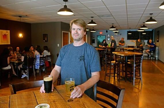 Karl Homburg, owner and head brewer at Castleburg Brewery.