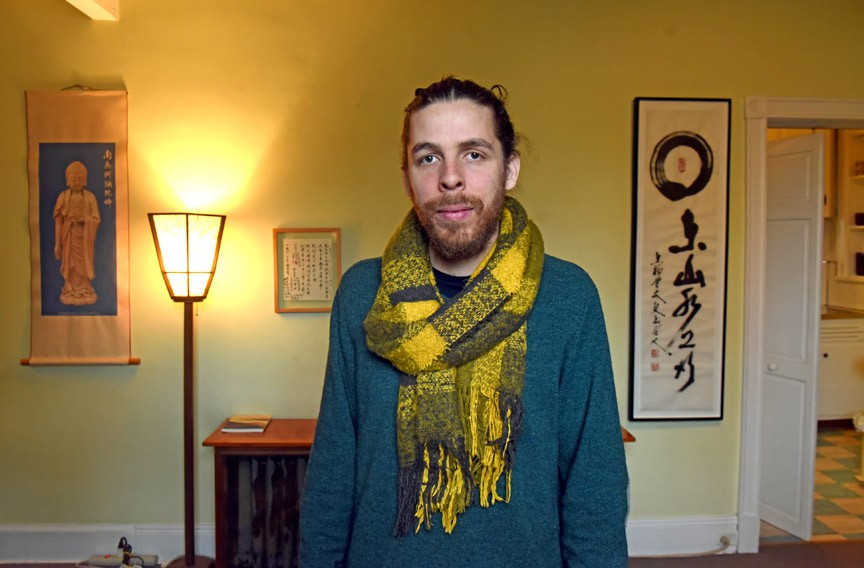 "Paul Willson is the newly elected president of Ekoji. He says maintaining harmony among members ""feels like the true fulfillment of some of these dharmic practices."" - SCOTT ELMQUIST"