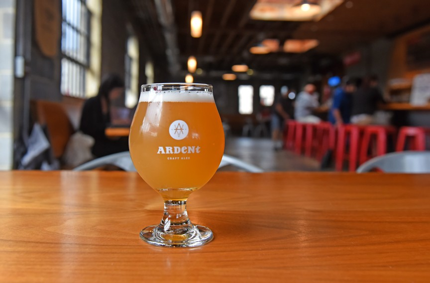 """Ardent Craft Ales serves up a gose with lime, also known as """"You Put the Lime in the Gose and You Drink It All Up."""" - SCOTT ELMQUIST"""