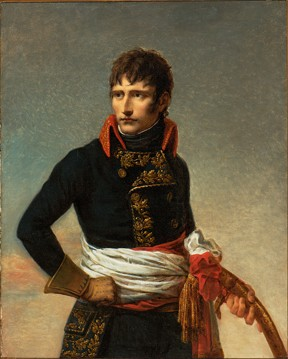 """Portrait of Napoleon  Bonaparte, First  Consul, in the Uniform of a General in the Army of Italy,""  1801, by Andrea Appiani - MMFA/CHRISTINE GUES"