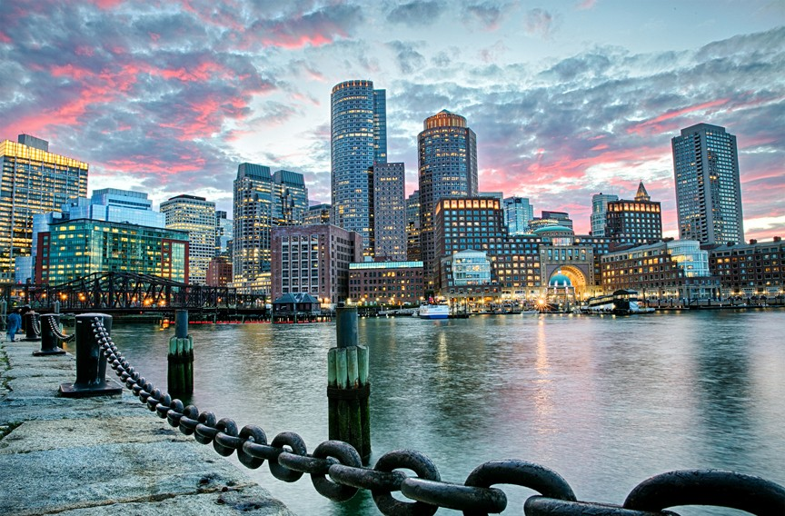 Boston Harbor - GREATER BOSTON CONVENTION & VISITORS BUREAU