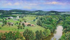 An exhibit of landscape paintings finds diversity in the Shenandoah Valley