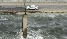 Here's what to do if you drive over the side of one of Hampton Roads' bridge-tunnels
