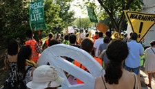 Extinction Rebellion Demonstration in Monroe Park