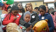Emotional Hillside Court Vigil Held for Toddler Killed in Crossfire