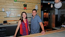 Talley's Meat and Three opens at the Village Shopping Center.