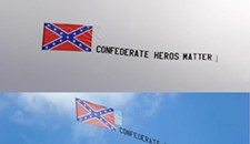 Virginia Flaggers Photoshop Confederate Banner Mistake