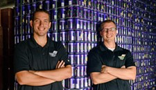 Chris Ray, 33 and Phil Ray, 37: Co-Founders of Center of the Universe Brewing Co.