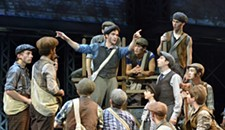 "Preview: Acrobatic Dancing Numbers Make the Musical ""Newsies"" Soar"