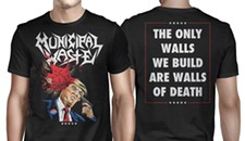 Municipal Waste Scores With Bloody Trump Shirt